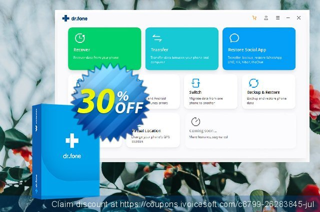 dr.fone (Mac) - Screen Unlock (Android) discount 30% OFF, 2021 Rose Day deals