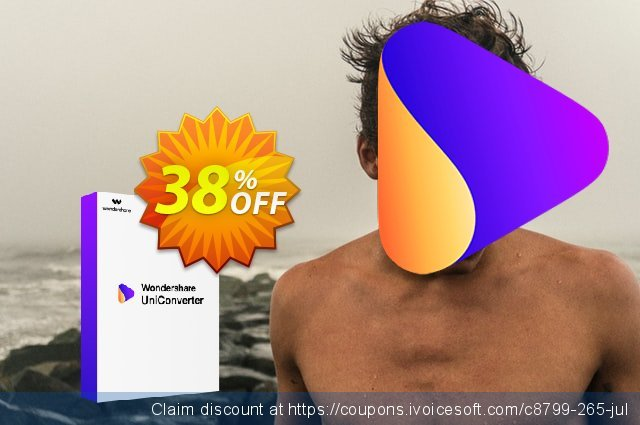 Wondershare UniConverter for Mac discount 26% OFF, 2020 Back to School promotion offering sales