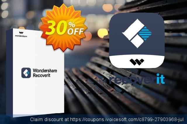 Recoverit ADVANCED discount 30% OFF, 2020 Summer promotions