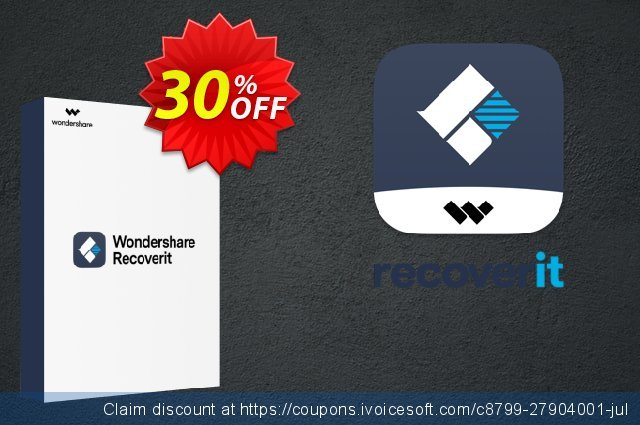 Recoverit Advanced for Mac discount 30% OFF, 2020 Easter day offering sales