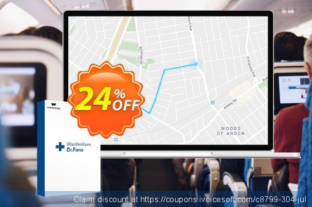 Wondershare Dr.Fone Virtual Location iOS  특별한   매상  스크린 샷