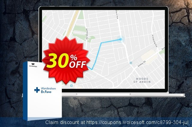 Wondershare Dr.Fone Virtual Location iOS discount 30% OFF, 2021 Women Day offering deals