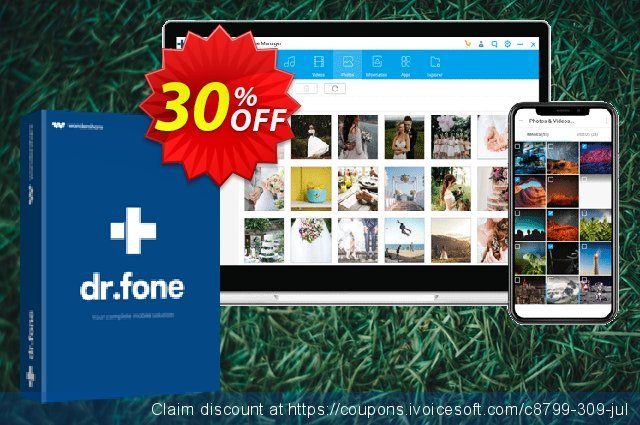 Wondershare Dr.Fone Phone Manager Android (For Mac) 令人敬畏的 优惠码 软件截图