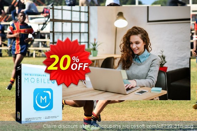 Wondershare MobileGo (MAC version) discount 30% OFF, 2019 Exclusive Student discount offering deals
