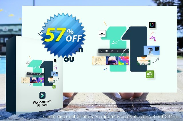 Wondershare Filmora for MAC Lifetime discount 40% OFF, 2021 Spring offering sales