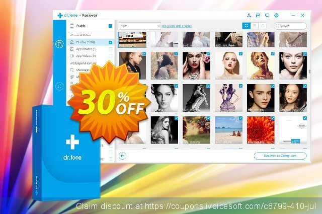 dr.fone - Repair (iOS) discount 30% OFF, 2020 Resurrection Sunday promotions