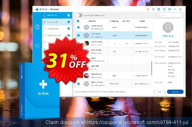 dr.fone - Erase (Android) discount 31% OFF, 2021 Daylight Saving promotions