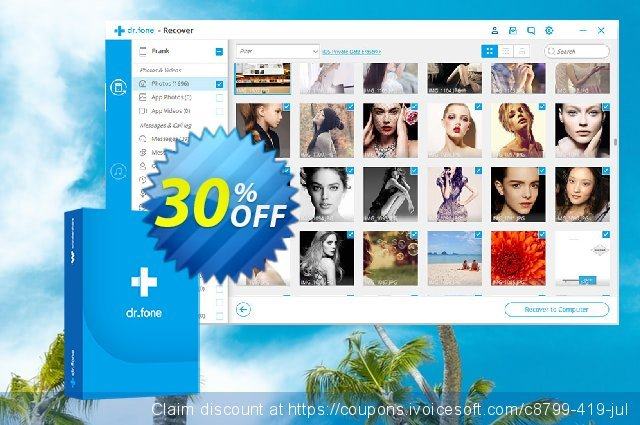 dr.fone (Mac) - Erase (iOS) discount 30% OFF, 2020 Back to School coupons offering sales