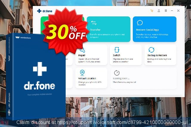 dr.fone - Recover (iOS) discount 30% OFF, 2020 Year-End offering deals
