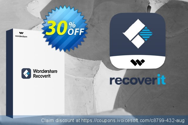 Recoverit Ultimate discount 30% OFF, 2019 April Fools' Day deals