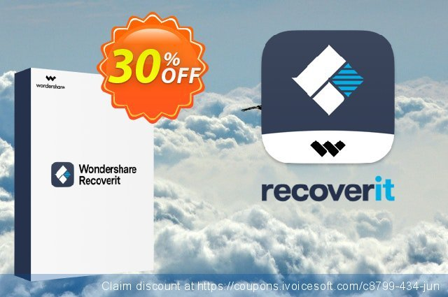 Recoverit Pro for Mac discount 30% OFF, 2019 April Fools' Day discount