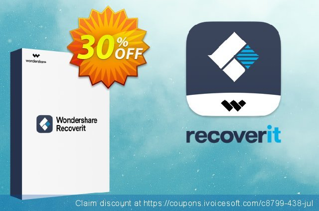 Recoverit ESSENTIAL discount 30% OFF, 2020 Summer offering sales