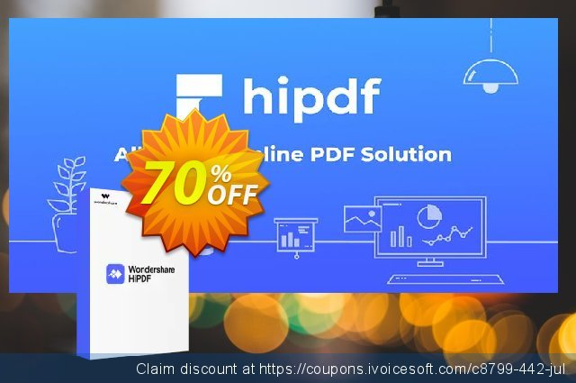 Hipdf discount 30% OFF, 2019 April Fools' Day offering sales
