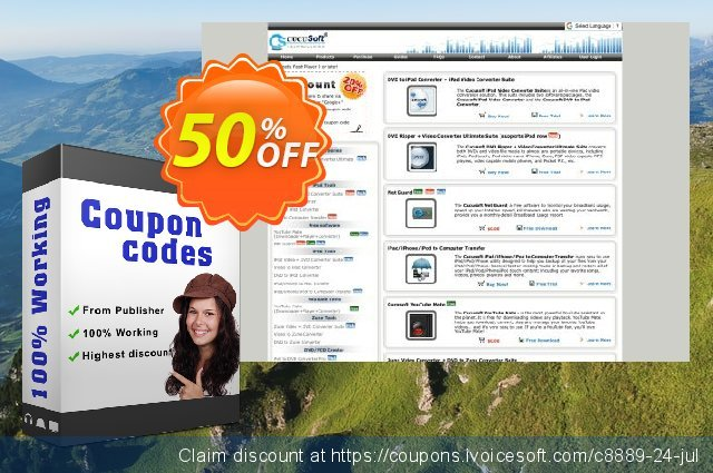 Cucusoft DVD Ripper Ultimate discount 50% OFF, 2019 Thanksgiving Day promotions