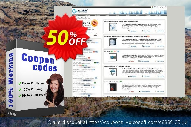 Cucusoft DVD Ripper + Video Converter Ultimate Suite 대단하다  세일  스크린 샷