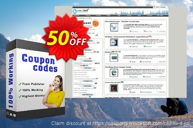 Cucusoft All Audio/Video to MP3 Converter 令人恐惧的 销售 软件截图