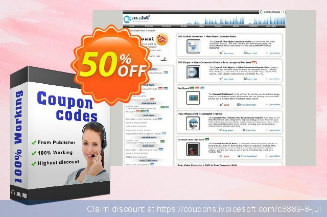 Cucusoft PSP Movie Converter discount 50% OFF, 2020 Summer offer