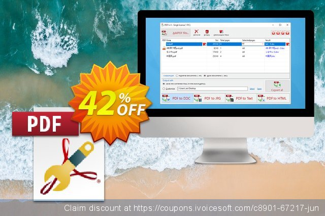 PDF to X Home License discount 42% OFF, 2021 Back to School offering sales. 41% OFF PDF to X Home License, verified
