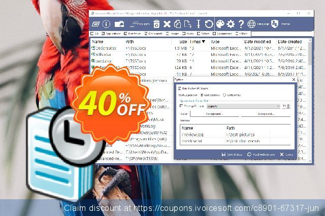Advanced Recent Access Single License discount 40% OFF, 2021 World Teachers' Day offering sales. 40% OFF Advanced Recent Access Single License, verified