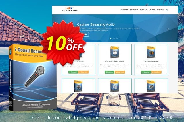i-Sound Recorder discount 10% OFF, 2021 Happy New Year promo