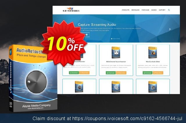 AudioRetoucher discount 10% OFF, 2019 Back to School shopping promo