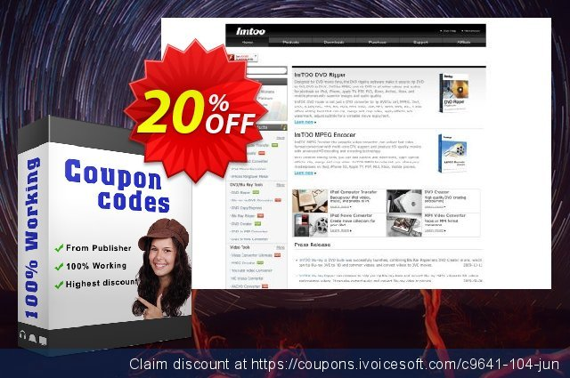 ImTOO SWF Converter 6 discount 20% OFF, 2020 July 4th offering sales