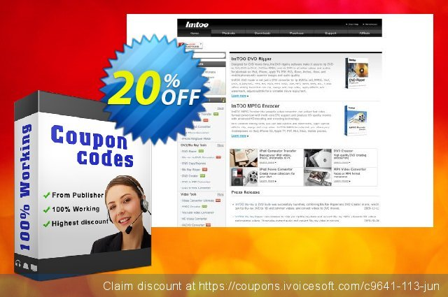 ImTOO Video and Audio Suite discount 20% OFF, 2020 Summer offering sales