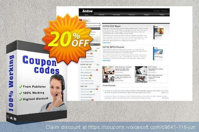 ImTOO MKV Converter 6 discount 20% OFF, 2020 Fourth of July promo