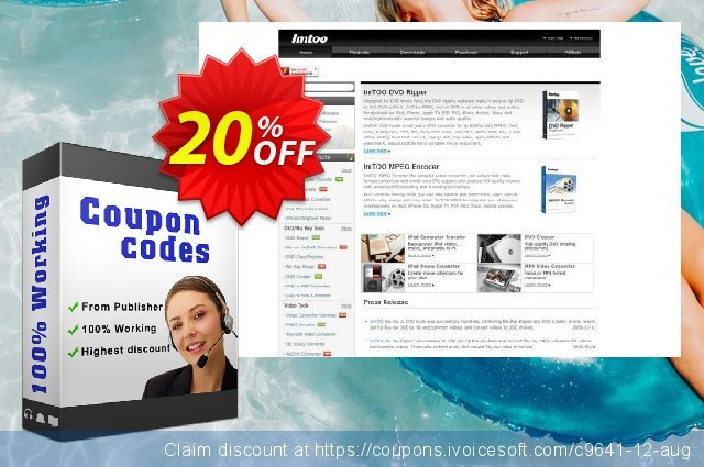 ImTOO DVD to PSP Suite discount 20% OFF, 2019 Thanksgiving offering discount