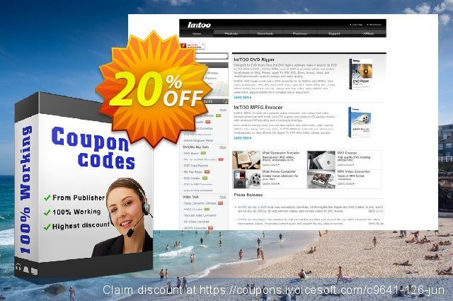 ImTOO Video Converter Standard discount 20% OFF, 2019 Thanksgiving discount