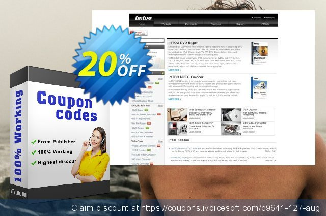 ImTOO Video Converter Platinum 7 discount 20% OFF, 2020 New Year's Weekend offering sales
