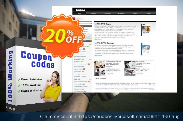 ImTOO RMVB Converter 6 discount 20% OFF, 2020 Working Day deals