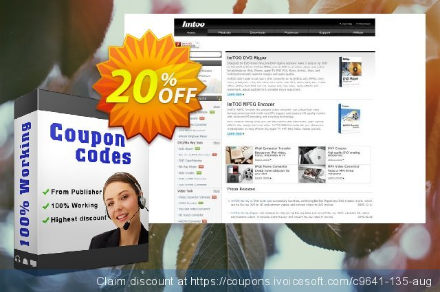 ImTOO ASF Converter 6 discount 20% OFF, 2020 American Independence Day promo