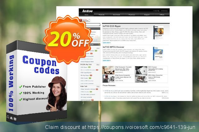 ImTOO FLV to 3GP Converter 6 discount 20% OFF, 2020 July 4th offering sales