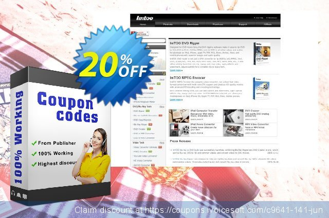 ImTOO FLV to MPEG Converter 6 discount 20% OFF, 2019 Thanksgiving promotions