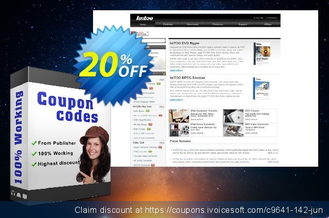 ImTOO FLV to MOV Converter 6 discount 20% OFF, 2020 4th of July offering sales