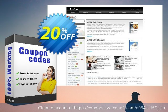 ImTOO iPad Video Converter 6 discount 20% OFF, 2020 Back to School shopping offering sales