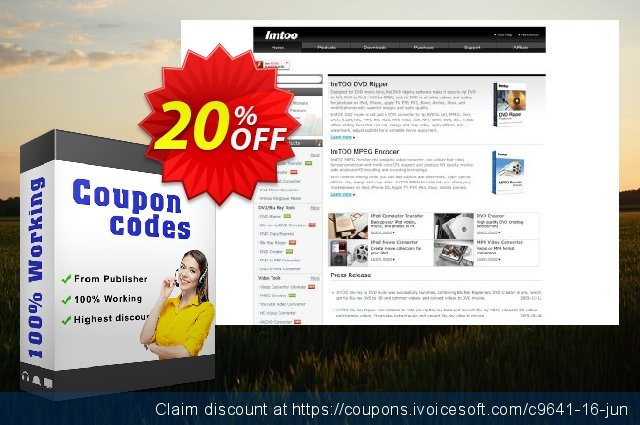ImTOO RM Converter discount 20% OFF, 2020 Halloween promo sales