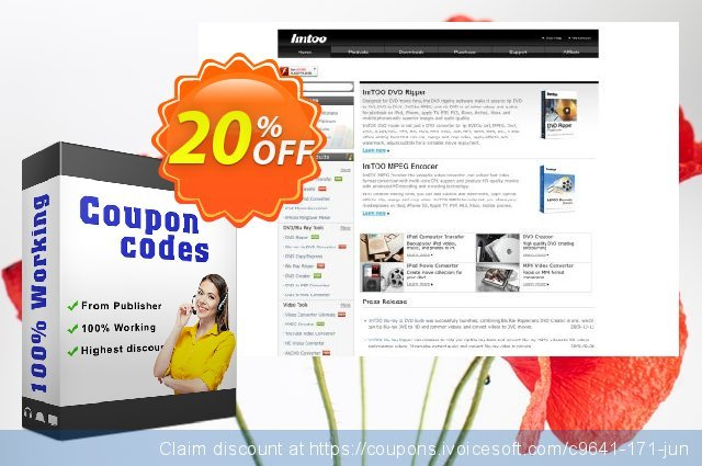 ImTOO YouTube to DVD Converter discount 20% OFF, 2020 College Student deals promo