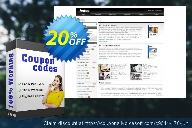 Get 20% OFF ImTOO Convert PowerPoint to iPod promo