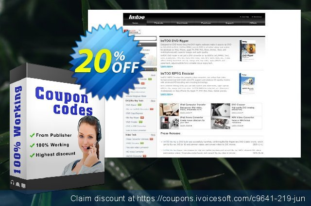 ImTOO Video Joiner for Mac discount 20% OFF, 2020 July 4th offering sales