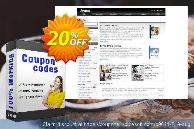 ImTOO Video Joiner for Mac discount 20% OFF, 2019 Thanksgiving deals