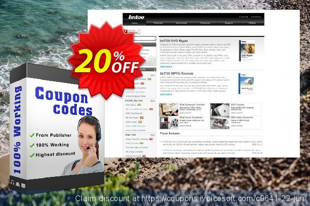 ImTOO DVD Creator discount 20% OFF, 2019 Thanksgiving Day offering sales