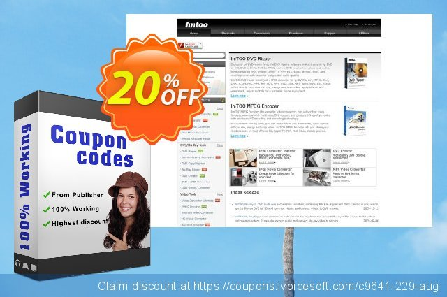 ImTOO YouTube HD Video Converter for Mac discount 20% OFF, 2020 July 4th promo sales