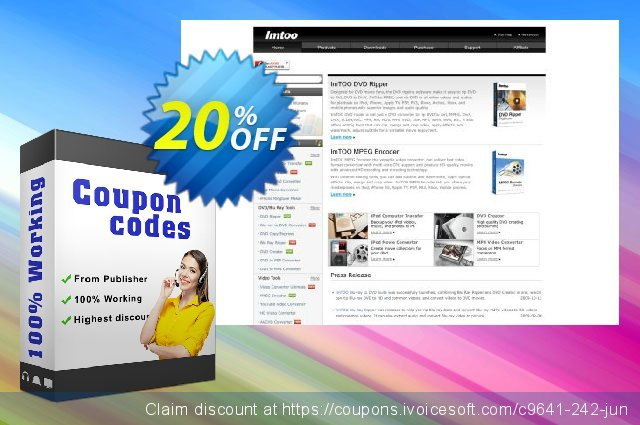 ImTOO Blu Ray Ripper for Mac discount 20% OFF, 2020 Summer sales