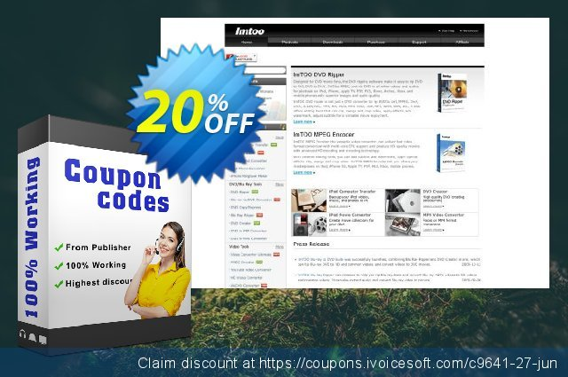 ImTOO DVD to 3GP Converter discount 20% OFF, 2020 4th of July offering sales