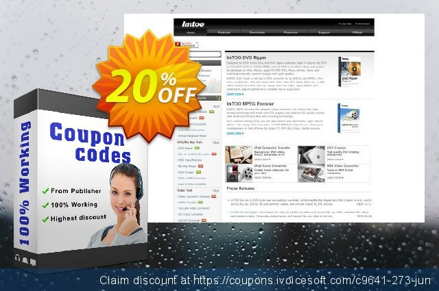 ImTOO YouTube to iTunes Converter discount 20% OFF, 2019 Thanksgiving discounts