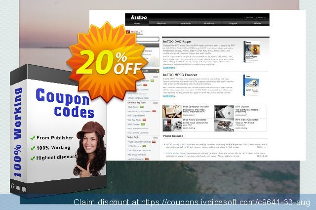 ImTOO DVD to WMV Converter discount 20% OFF, 2020 Summer offer