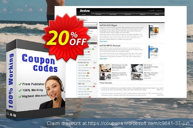 ImTOO DVD to MP4 Suite discount 20% OFF, 2019 Thanksgiving Day offering sales