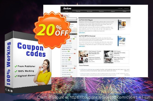 ImTOO DVD Copy Express discount 20% OFF, 2020 Fourth of July offering sales
